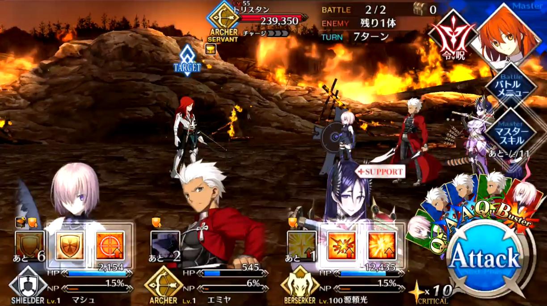 第12節 炎の村3 Battle2/3