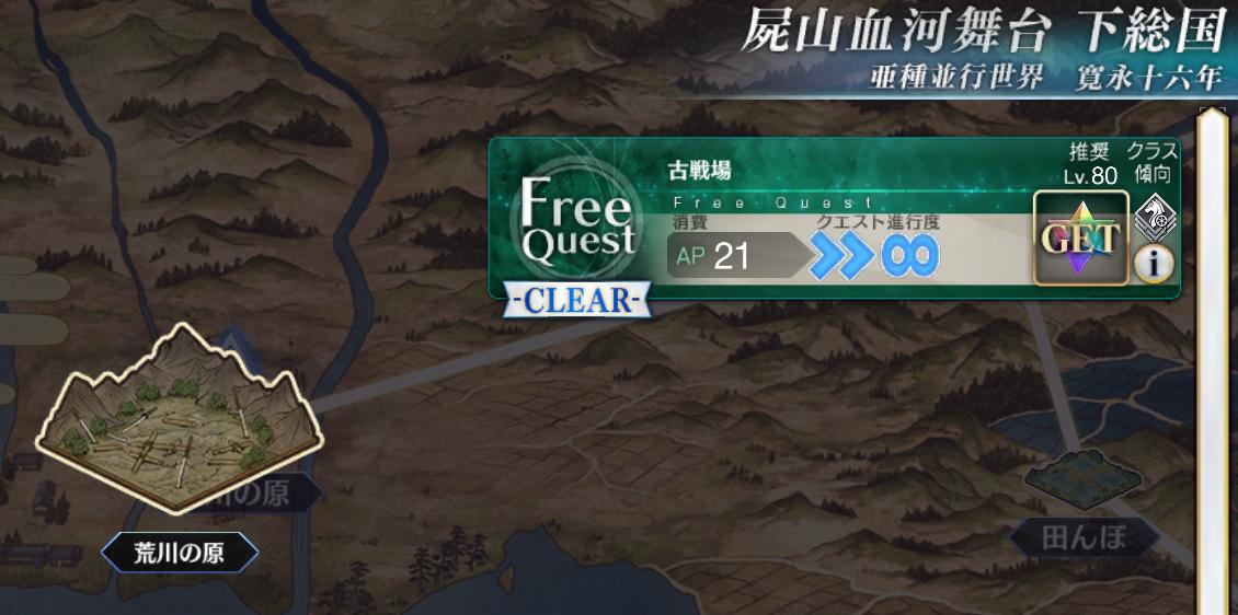 下総国:荒川の原(古戦場)